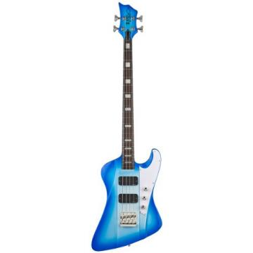 DBZ / Diamond Guitars HFR4FM-BB Hailfire ST Standard 4 String  Bass Guitar, Blue Burst
