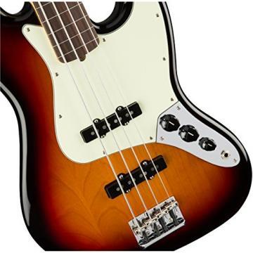 Fender American Professional Fretless Jazz Bass - 3-color Sunburst