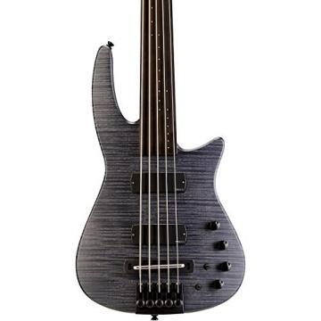 NS Designs NS CR5-BG-CHS-FL Bass Guitar, Charcoal Satin, Fretless