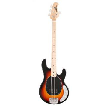 Ernie Ball Music Man Stingray 4 Bass, Vintage Sunburst, Single Humbucker, Maple Board