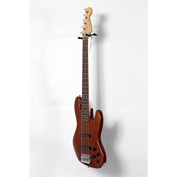 Fender Deluxe Active Jazz Bass V Okume Rosewood Fingerboard Electric Bass Guitar Level 2 Natural 888365977607