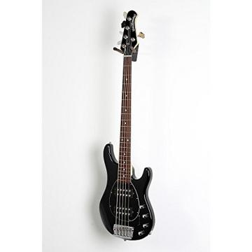 Ernie Ball Music Man Sterling 5 HH Bass Level 2 Black, Rosewood Fretboard 190839080257