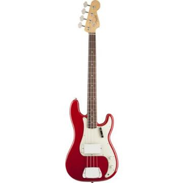 Fender American Vintage '63 Precision Bass Guitar, Rosewood Fingerboard - Seminole Red