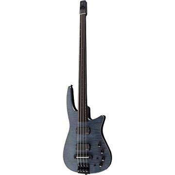 NS Designs NS CR4-BG-CHS-FL Bass Guitar, Charcoal Satin, Fretless