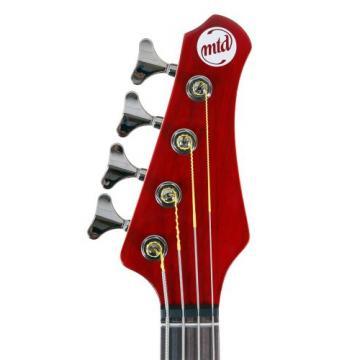 "MTD Kingston ""The Artist"" Bass Guitar (4 String, Rosewood, Transparent Cherry)"