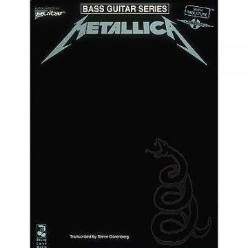 Metallica - (Black) For Bass - Bass Guitar Series