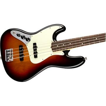 Fender American Professional Jazz Bass, Left-handed - 3-color Sunburst
