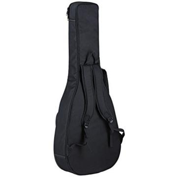 Ortega Guitars D-WALKER-MM Deep Series Extra Short Scale Acoustic Bass with Agathis Top and Body
