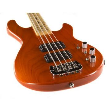 G&L USA L-2000 Bass, Clear Orange, Maple