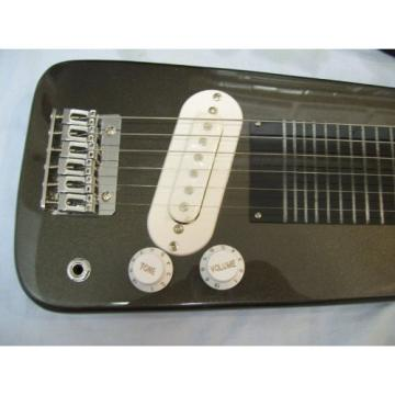 Lap Steel guitar with case, Black