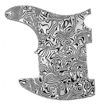 New White Pearl Shell Guitar Pickguard For Fender Telecaster Tele Esquire