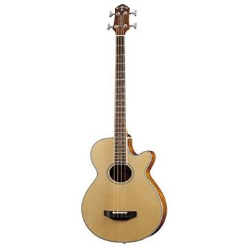 Crafter BA-400/EQ (MAT) Electro-Acoustic Bass Guitar (Includes Deluxe Bag)