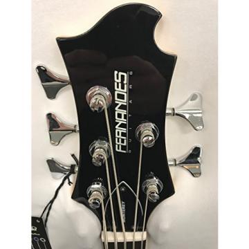 Fernandes Monterey 5 X Bass Guitar - Black