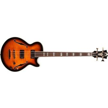 D'Angelico EXB ASS04 4-String Bass Guitar, Vintage Sunburst