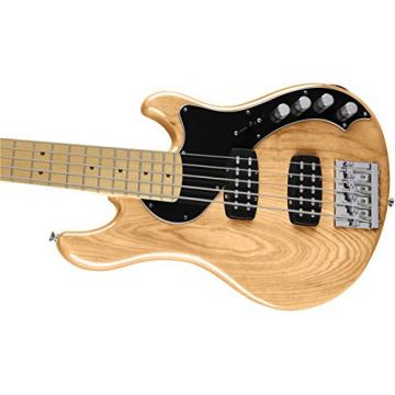 Fender Deluxe Dimension Bass V, Maple Fingerboard, Natural
