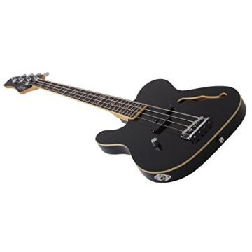 Schecter dUg Pinnick Baron-H 4-String Bass Guitar, BLK