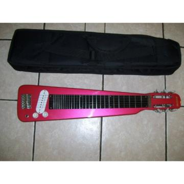 Lap Steel guitar with case, Red