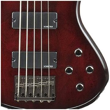 Schecter 2502 Stiletto Extreme 5 BCH Electric Bass w/ Gig Bag and Stand