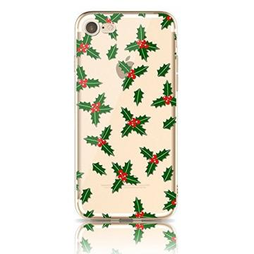 iPhone 6S Back Case TPU, Bonice iPhone 6 Premium Ultra Thin Slim Exact Fit Silicone Rubber Clear Transparent Back Cover Creative Design Scratch-Resistant Non-slip Protective Skin - Sharp Cactus