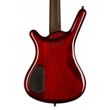 Warwick Corvette $$ Custom Shop # 284, Burgundy Red Stain Highpolish