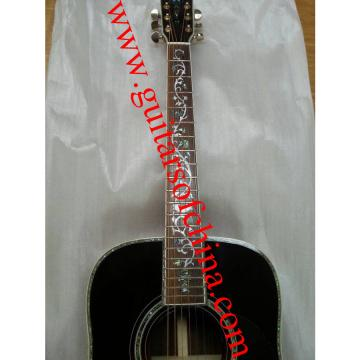Martin D45 dreadnought acoustic guitar rosewood fretboard vine abalone inlays