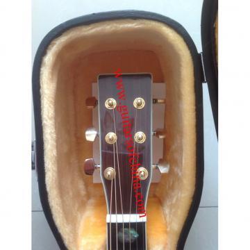 Martin D45 Standard Series headstock no logo inlays
