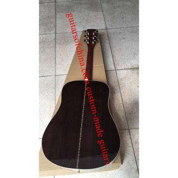 Custom Solid Spruce Sunburst Martin D 28 Guitar