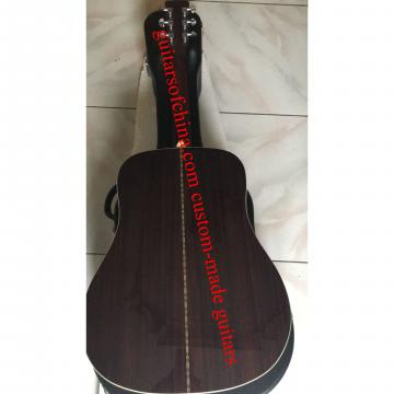 Custom Lefty Martin D-28 Solid Rosewood Guitar
