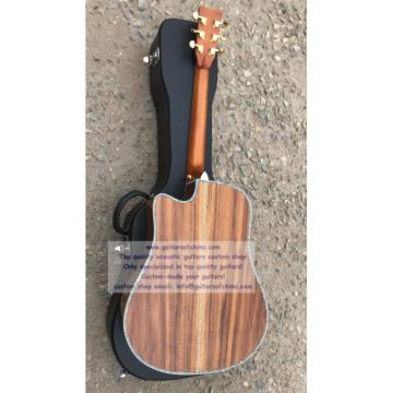 Custom Solid Martin D45 KOA Guitar(2018 new)