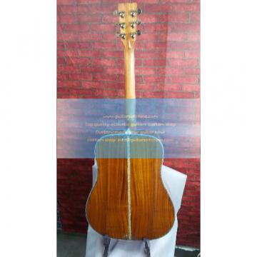 Custom Martin D45 KOA Solid Guitar Fancy Abalone Inlay