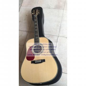 Custom Left-handed Martin D 45 SS Factory Price Natural Guitar