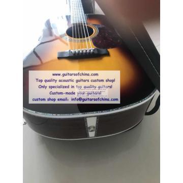 Custom Solid Wood Martin D-45 Acoustic Guitar Sunburst(2018 New)