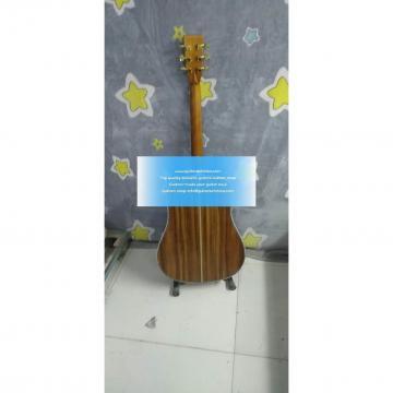 2018 New Solid KOA Custom Martin D 45 Acoustic Guitar(Super Good Quality)