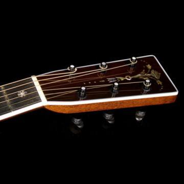 Martin Custom Shop 2-45 Brazilian Rosewood Acoustic Guitar Natural
