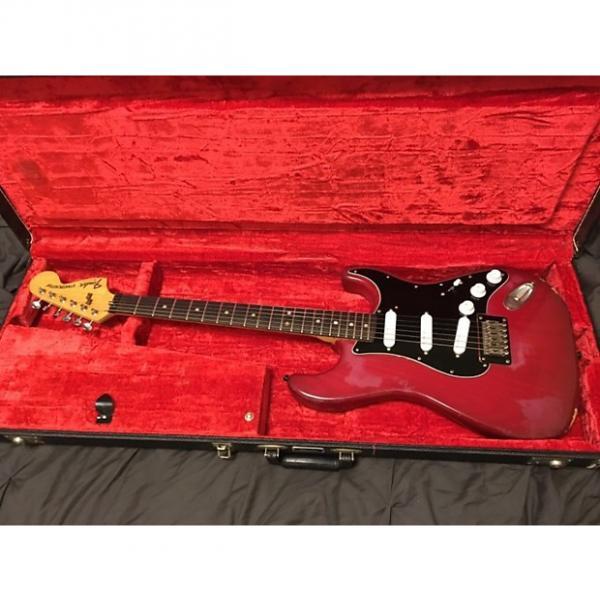 Custom Fender Stratocaster 1979 Red