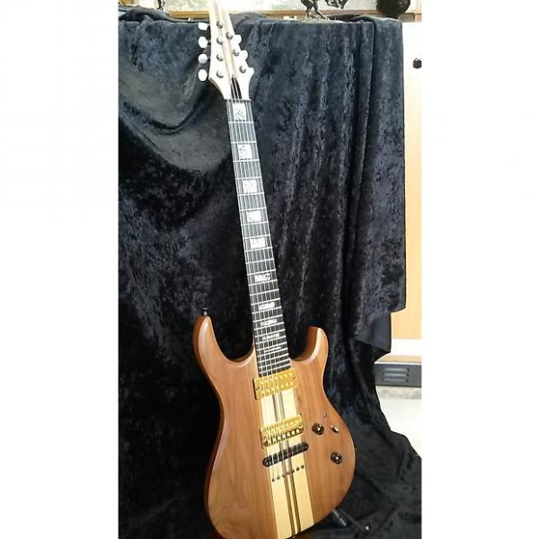 Custom Carvin Stratocaster 7 String Maple/Walnut Neck Through