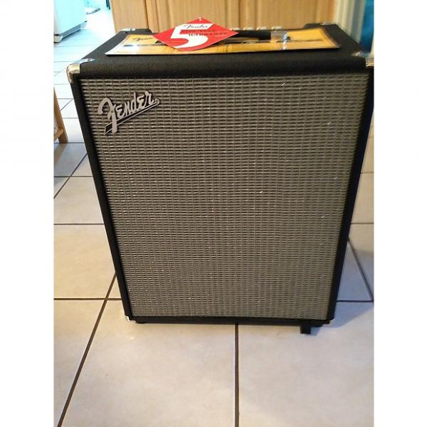 Custom Fender Rumble 200 Bass Amp  Amplifier Combo 2016 Black & Gray
