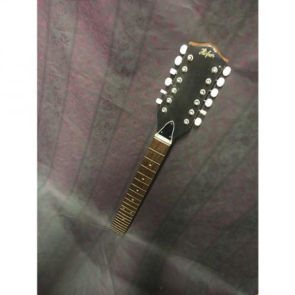 Custom Hofner Vintage 12 String Acoustic Hofner Neck