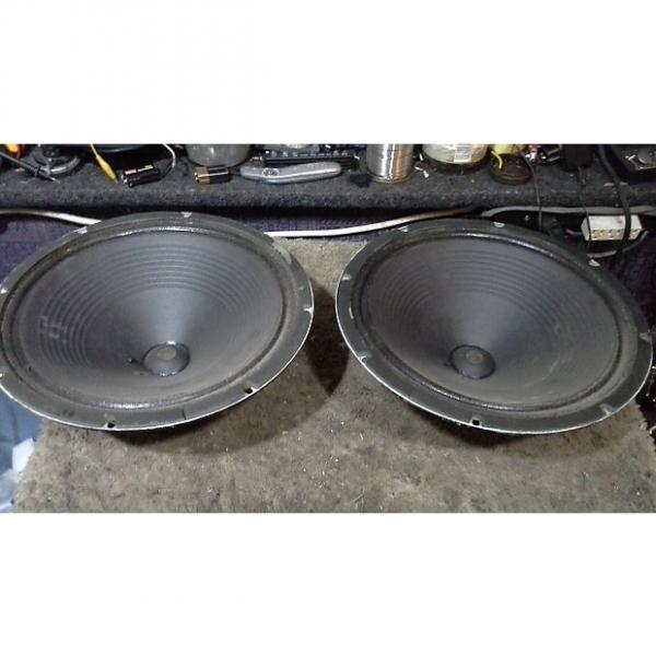 "Custom '69 Oxford 122L6-2 12"" Speakers(2) 'ALL ORIGINAL' 'Proreverb' 'Twinn' Amps 16 Ohms"