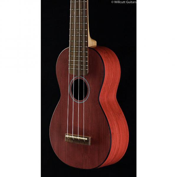 Custom Martin 0X Uke Bamboo Red Soprano (474)