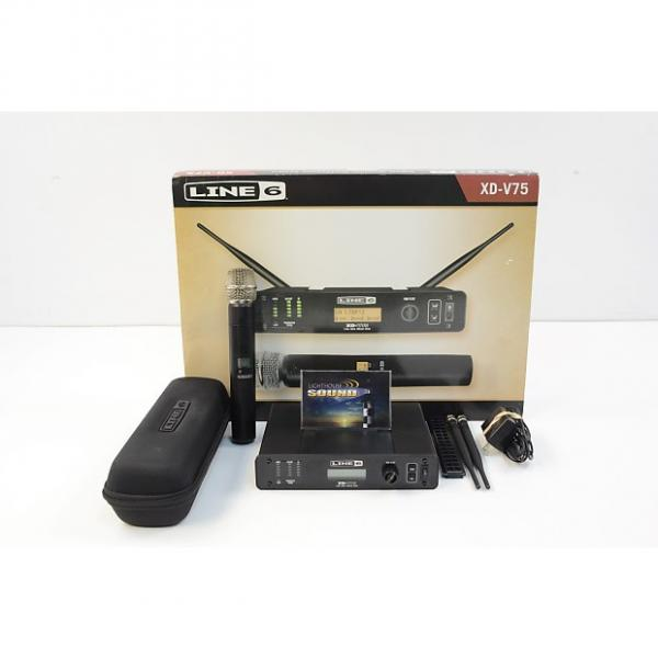 Custom Line 6 XD-V75 Digital Wireless Handheld Microphone System - In Box