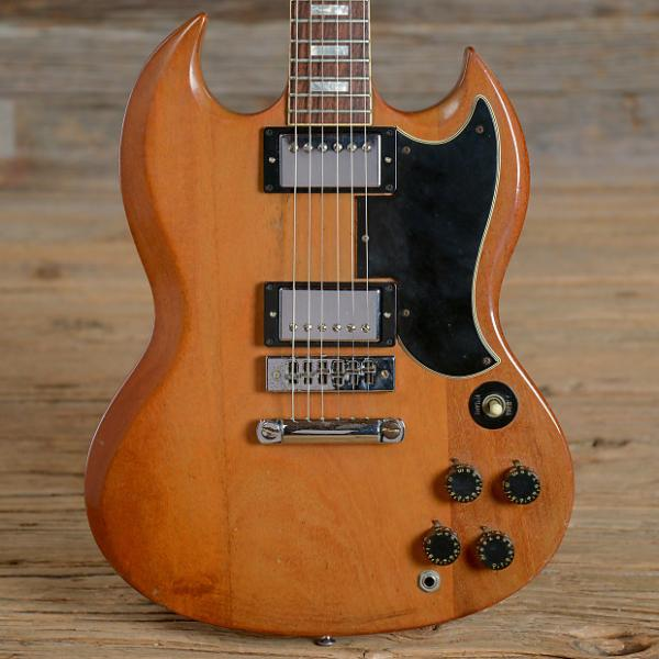 Custom Gibson SG Natural 1975 (s256)