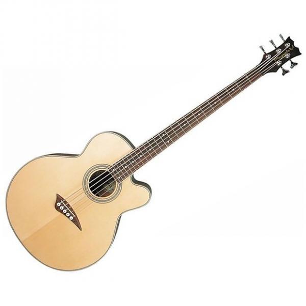 Custom Dean EABC Cutaway Acoustic-Electric Bass Natural