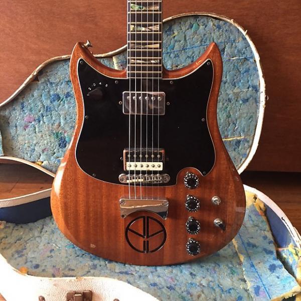 Custom c1970 Electra Outlaw X740 MPC (Natural Mahogany)