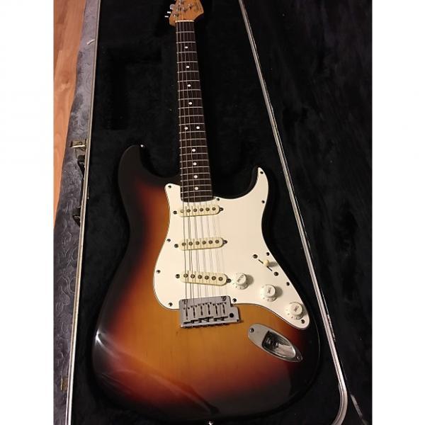 Custom Fender American Standard Stratocaster 1991 3 Tone Sunburst