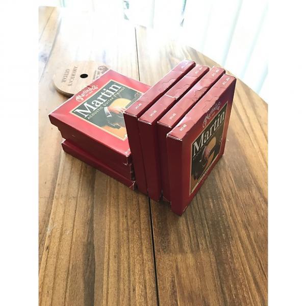 Custom Martin M-140 80/20 Bronze Light Acoustic Strings - Set of 8