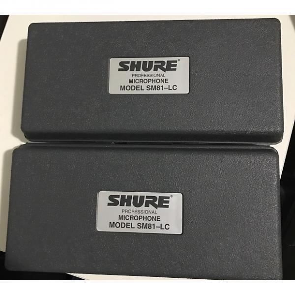 Custom Sennheiser SM81 Pair