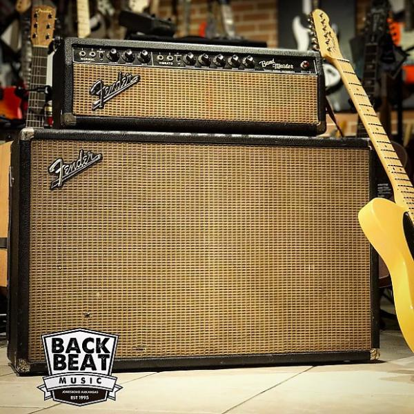 Custom Fender Band-Master Head & 2x12 Cabinet