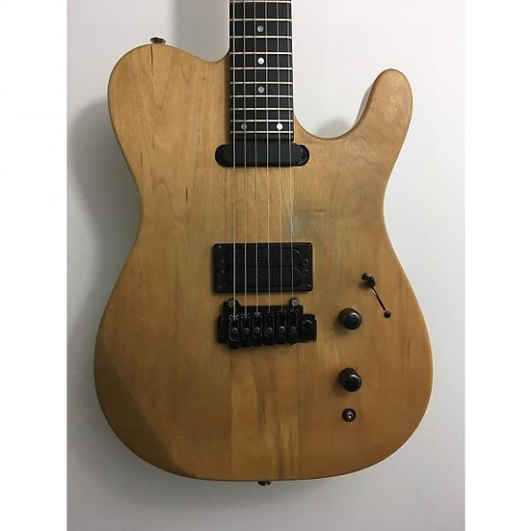 Custom Carvin T series neck-through Natural