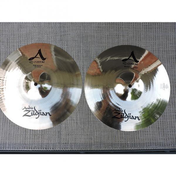 """Custom Zildjian 13"""" A Custom Hi-Hat (Pair) brilliant"""